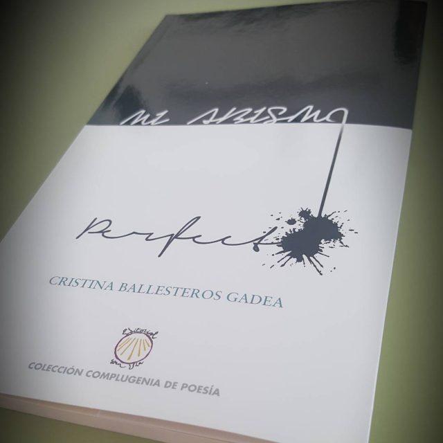 Cristina Ballesteros publica su primer libro nos encanta!!!!