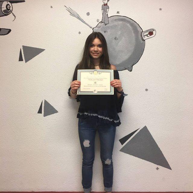 Enhorabuena a nuestra campeona por su tercer premio en elhellip