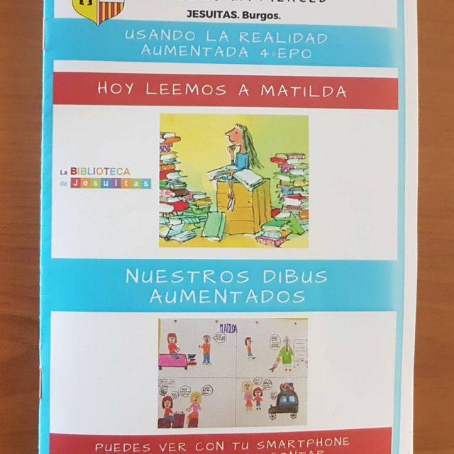Y lemos a Matilda buenos ratos de lectura en 4EPOhellip